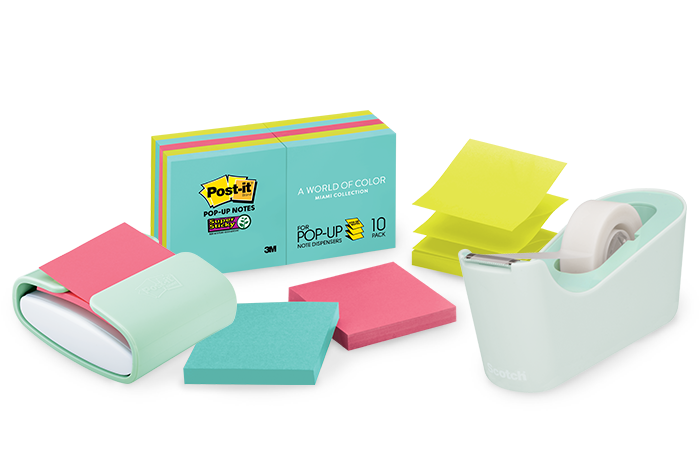 Post-it Notes and Scotch Office Products
